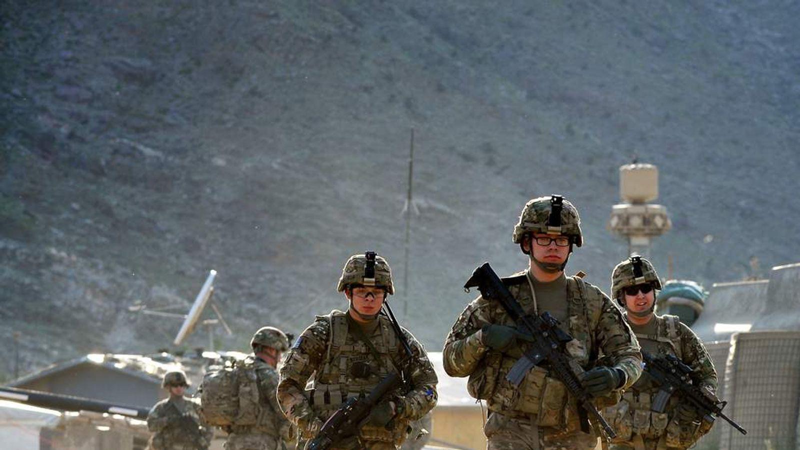 US And Afghanistan Troops