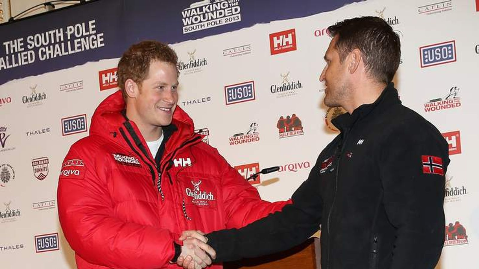 Walking With The Wounded South Pole Allied Challenge - Press Launch