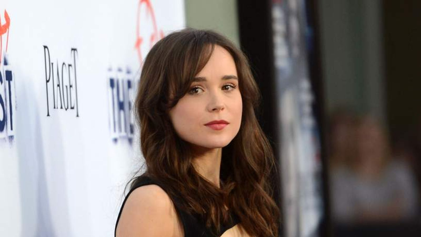 Ellen Page arrives at the premiere of The East.