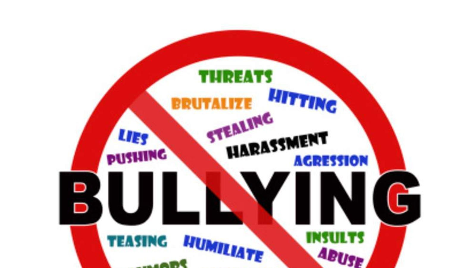 Cyber bullying sign