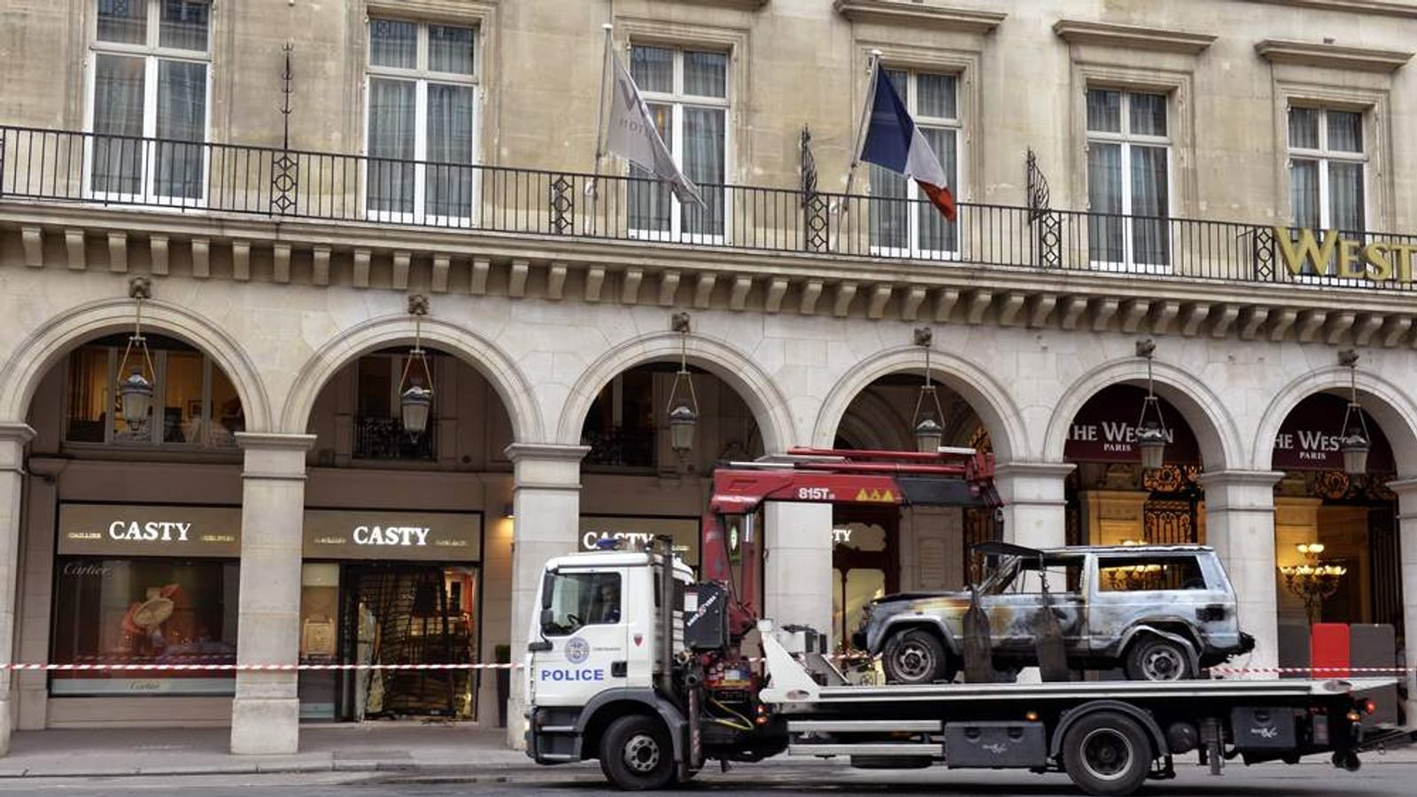 FRANCE-CRIME-RAM-RAID Casty Paris