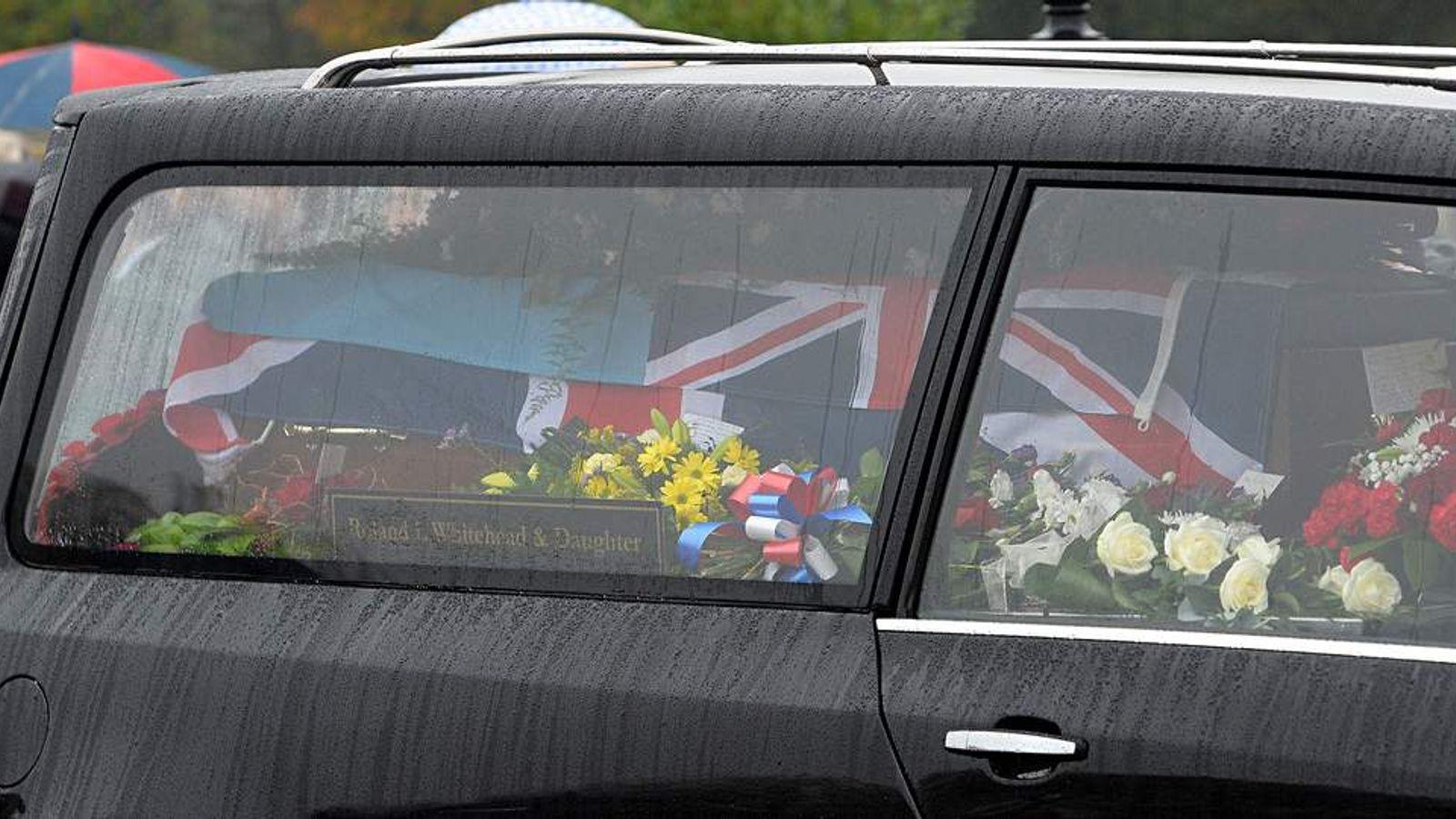 Strangers Attend Funeral Of RAF War Veteran Harold Percival