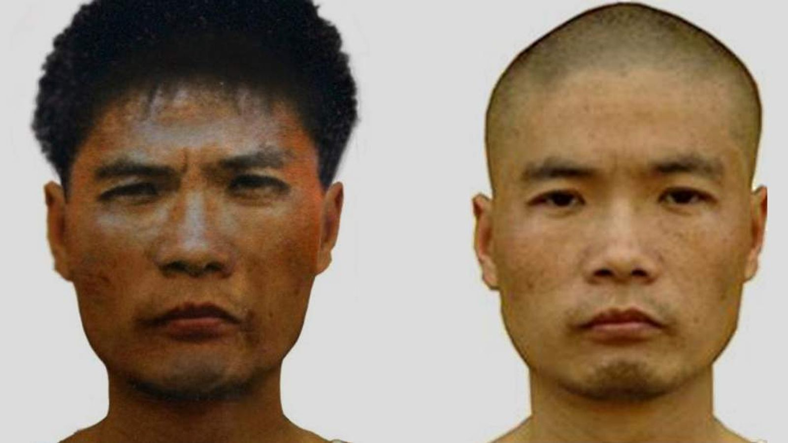 Chinese fugitive serial killer 42-year-old Zhou Kehua
