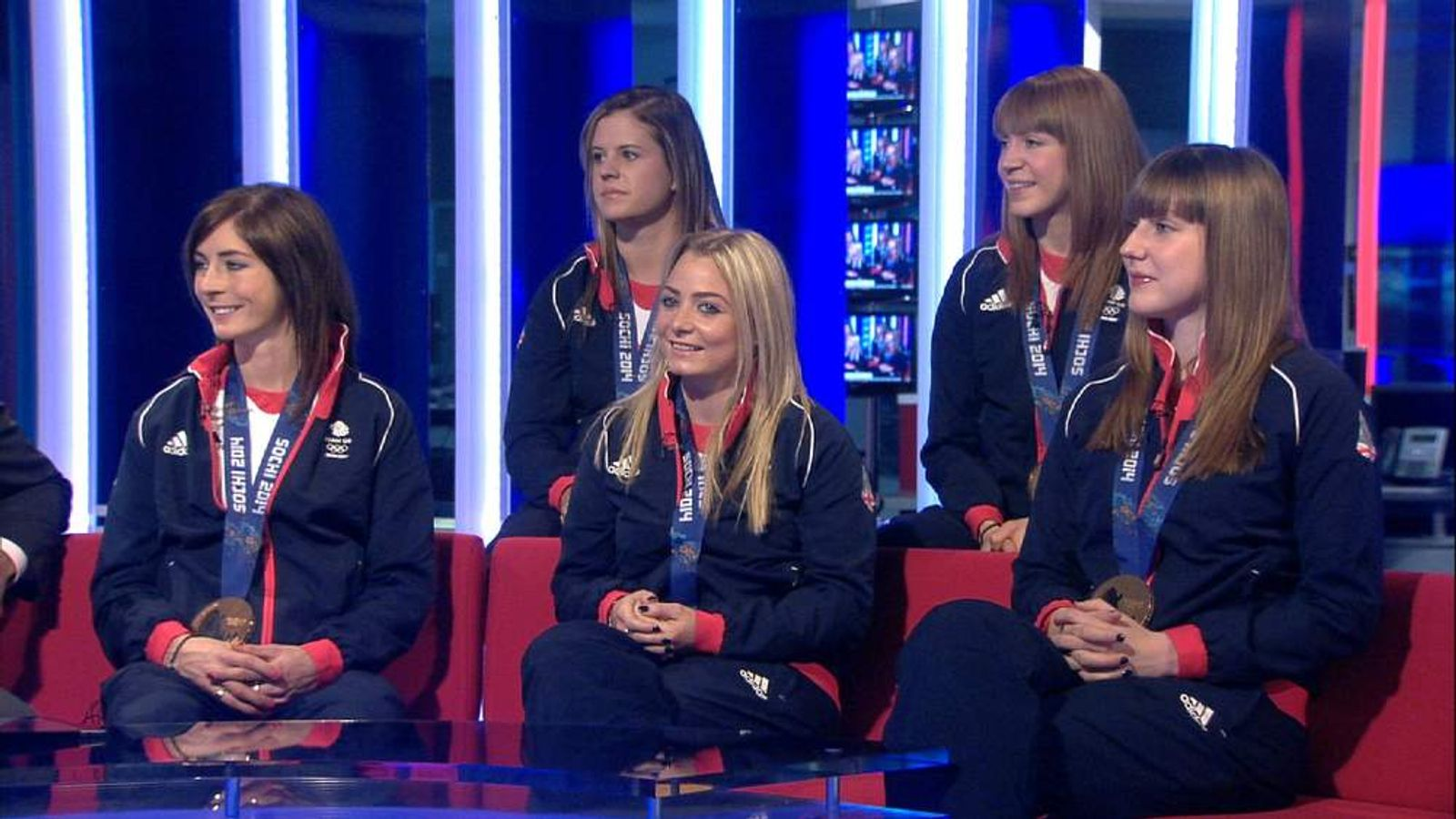 250214 SUNRISE TEAM GB CURLING