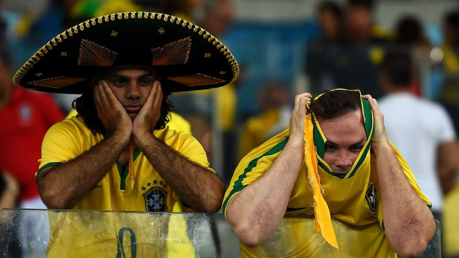 Brazil Fans Upset After Germany World Cup Defeat