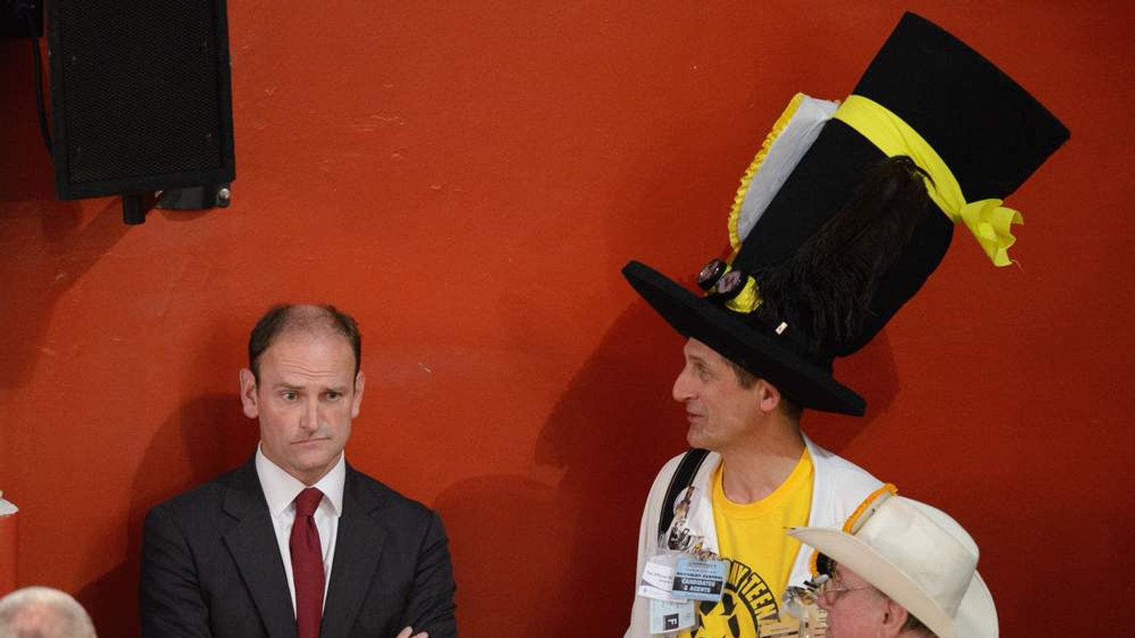Douglas Carswell and Monster Raving Loony Party