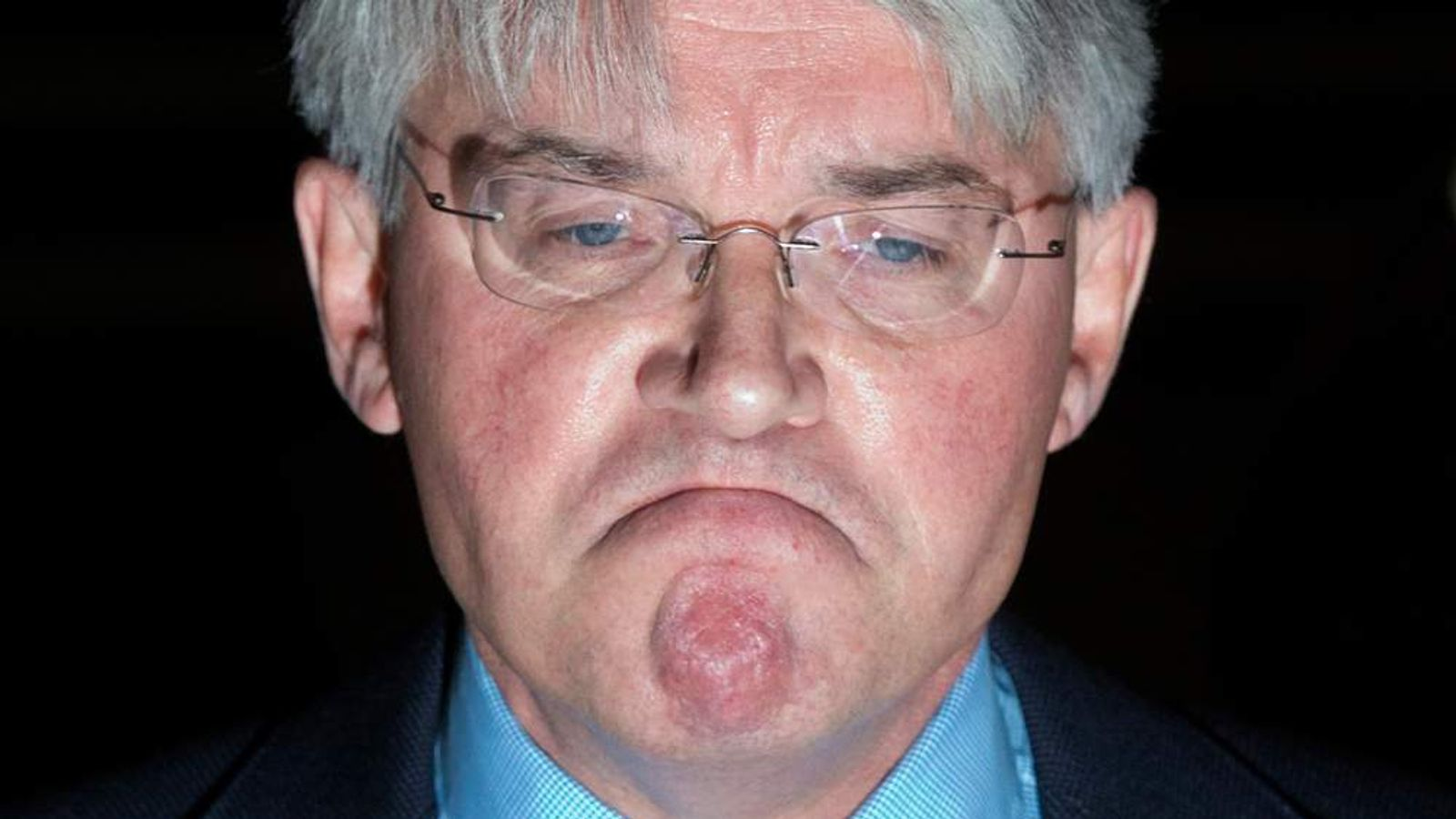 Andrew Mitchell talks to the media after losing libel case