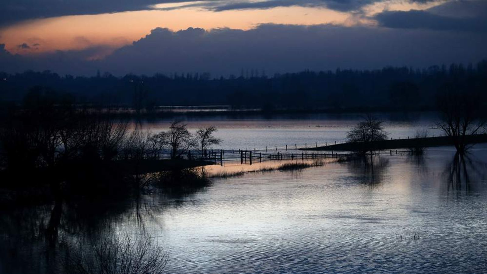 River Severn flooding