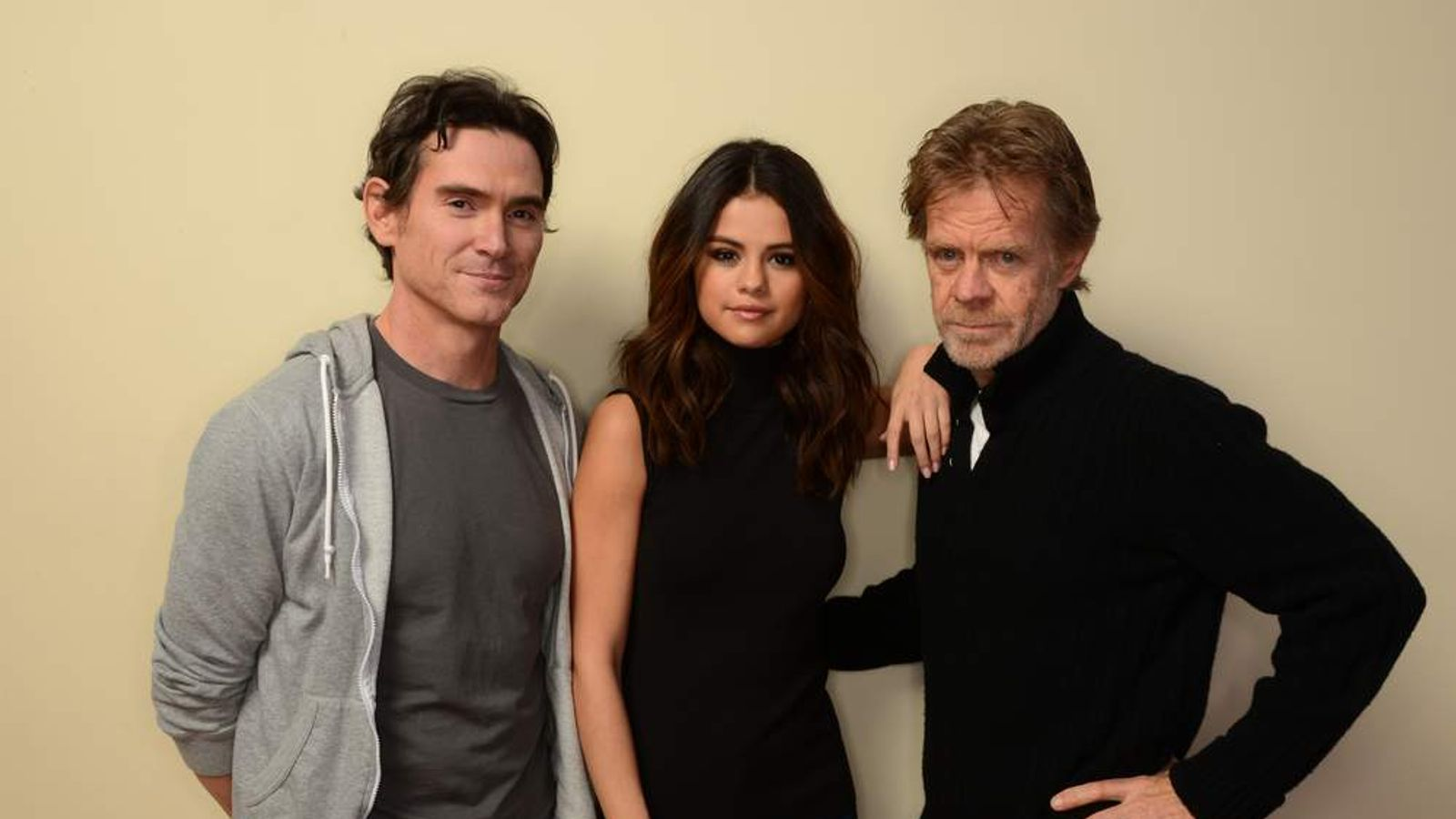 Billy Crudup, Selena Gomez, and William H. Macy