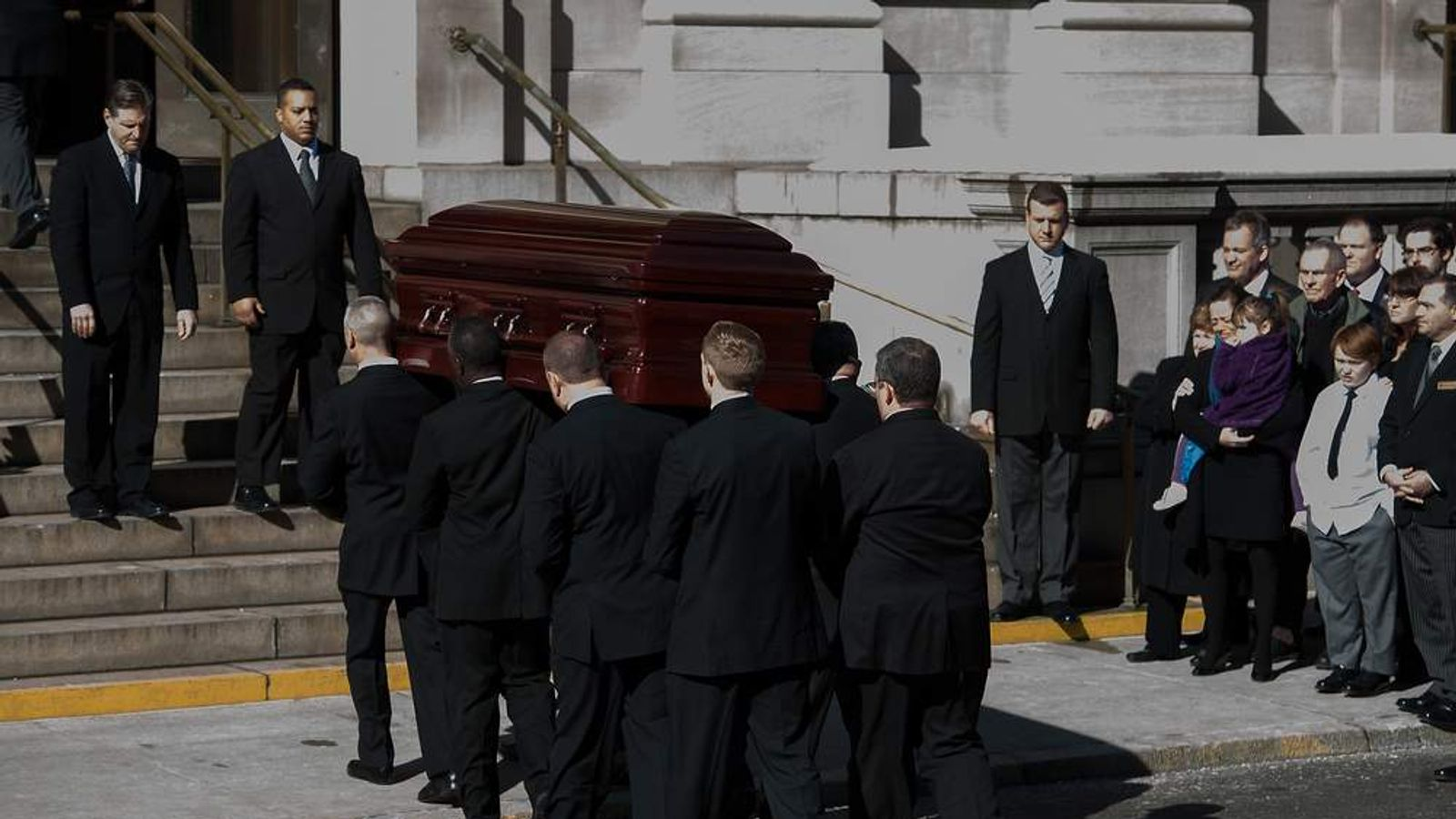 The funeral service for actor Philip Seymour Hoffman was held in New York.