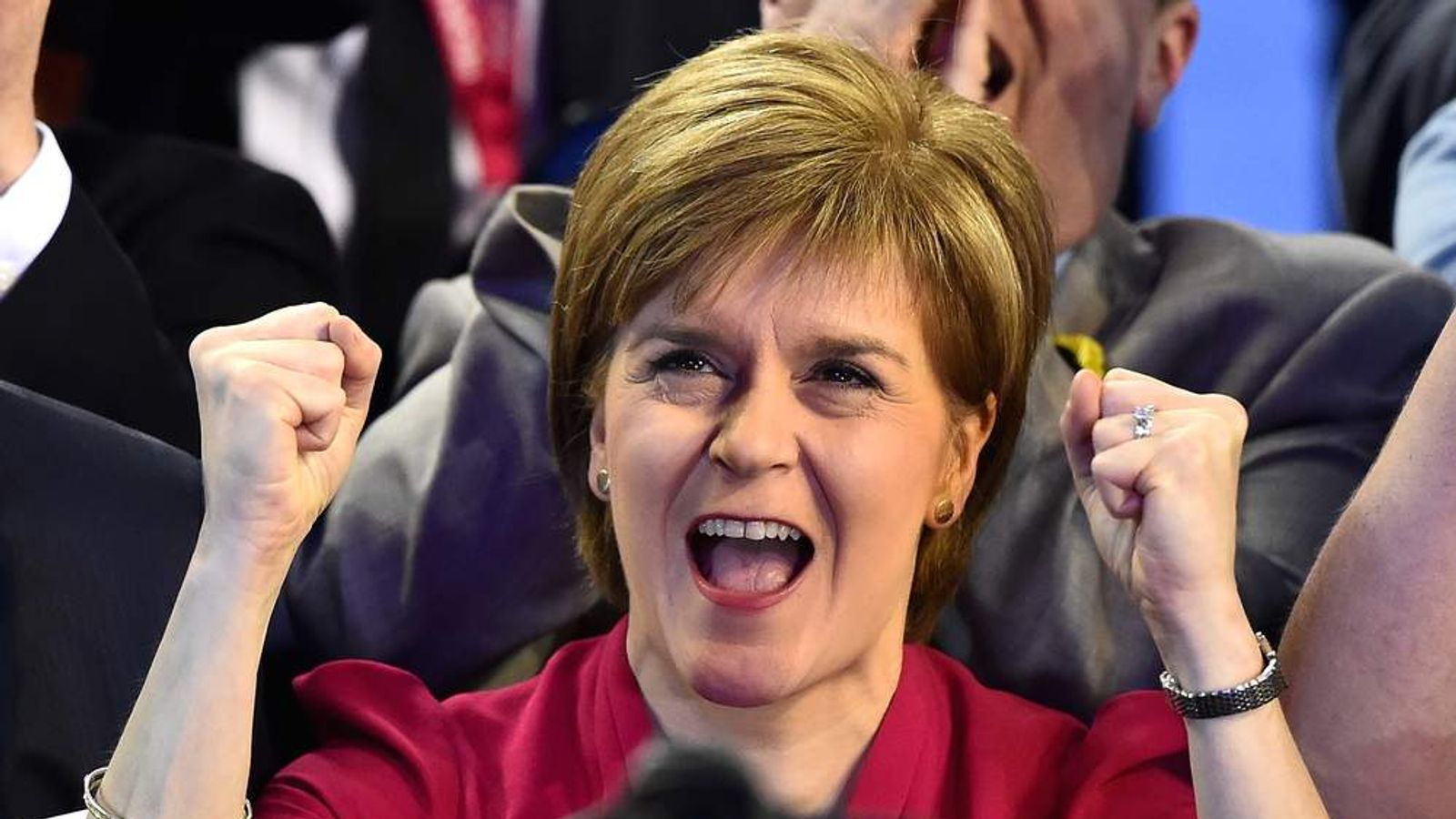 Nicola Sturgeon Attends The Glasgow Declaration To Hear The Results Of Seven Wards
