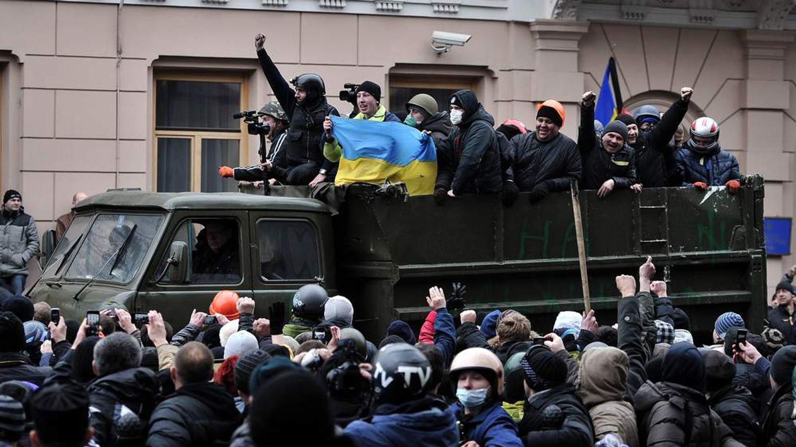 UKRAINE-POLITICS-UNREST
