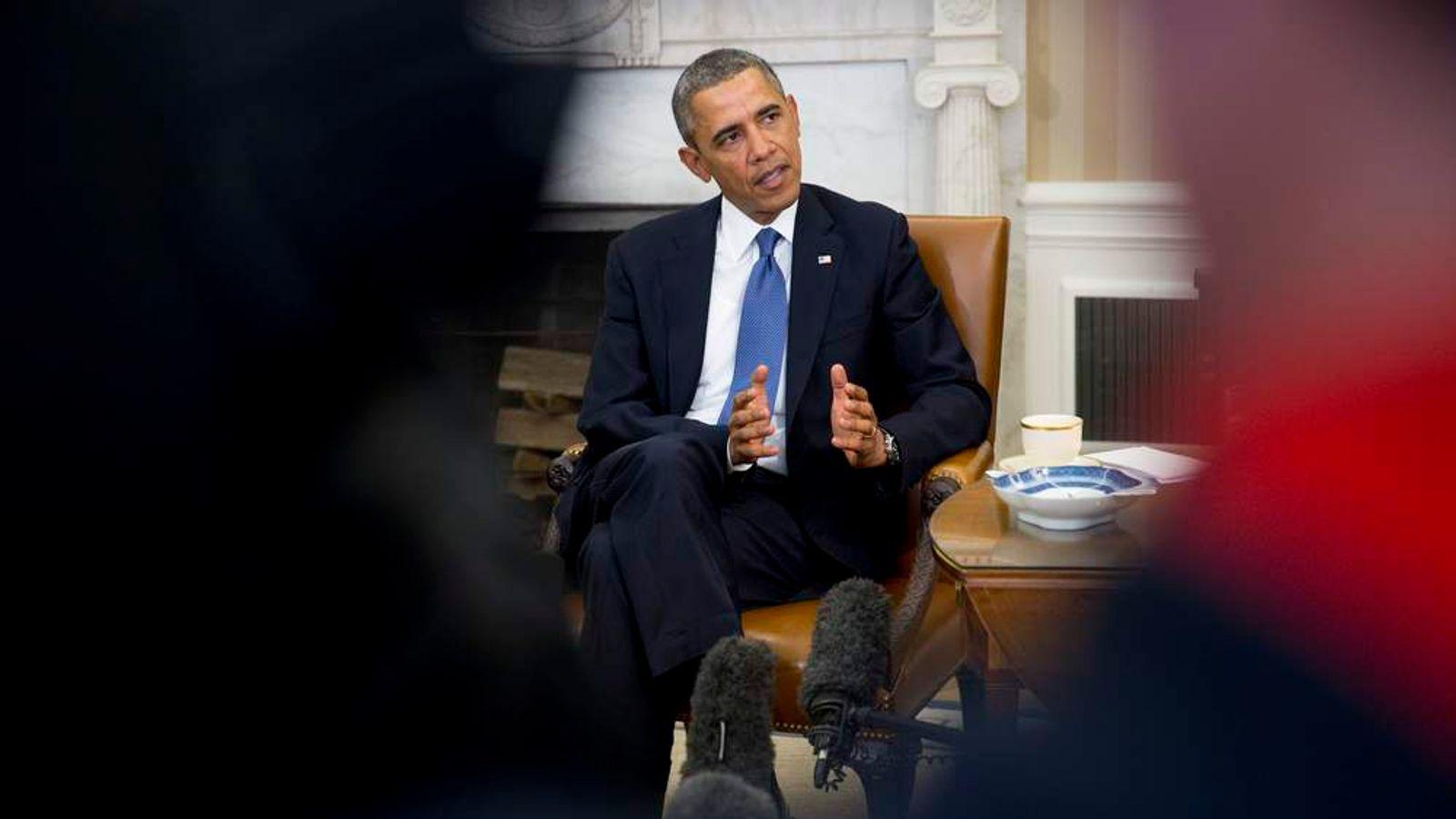 President Obama Meets Israeli Prime Minister Netanyahu At The White House