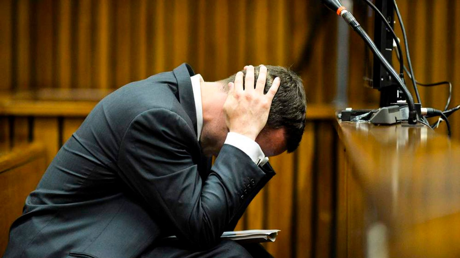 Oscar Pistorius Is Tried For The Murder Of His Girlfriend Reeva Steenkamp