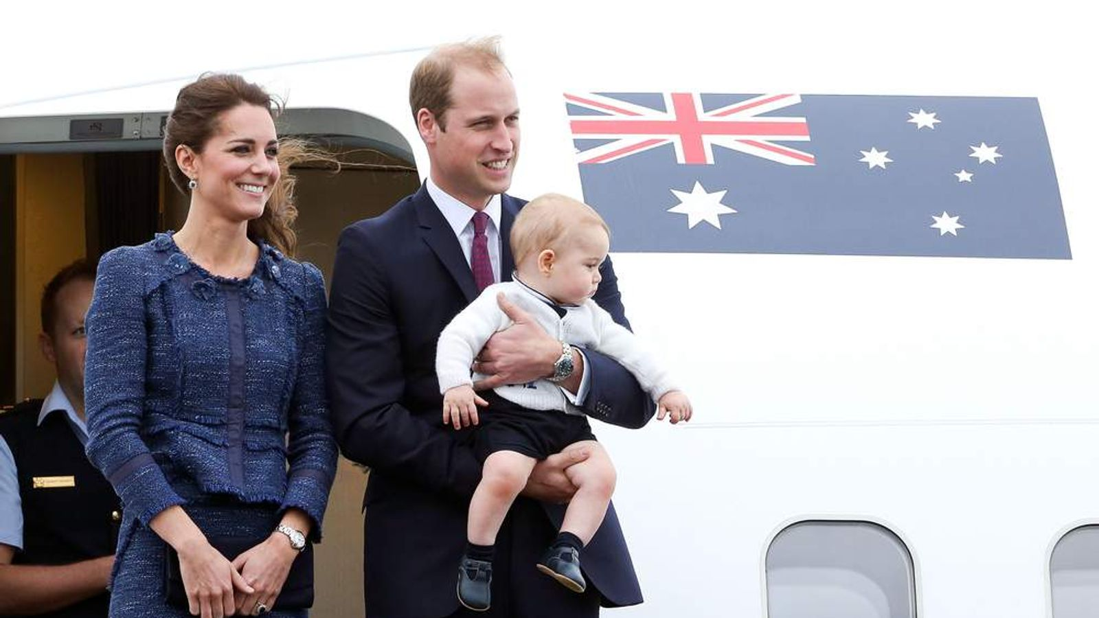 The Duke and Duchess of Cambridge tour Australia and New Zealand.