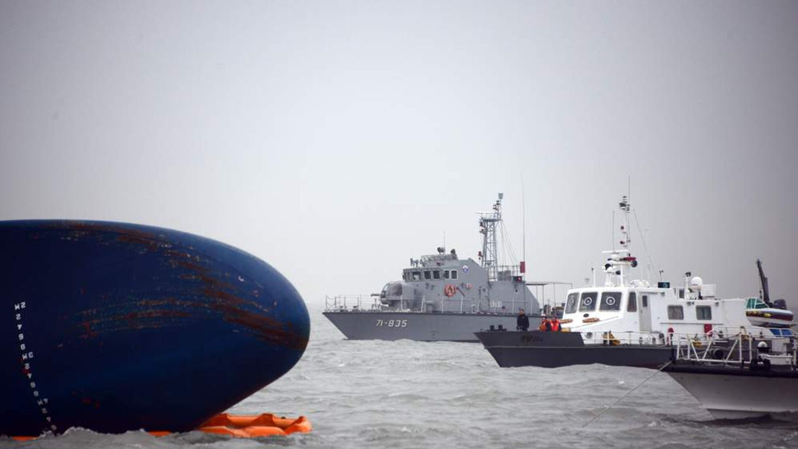 South Korea Ferry Survivors Search Continues
