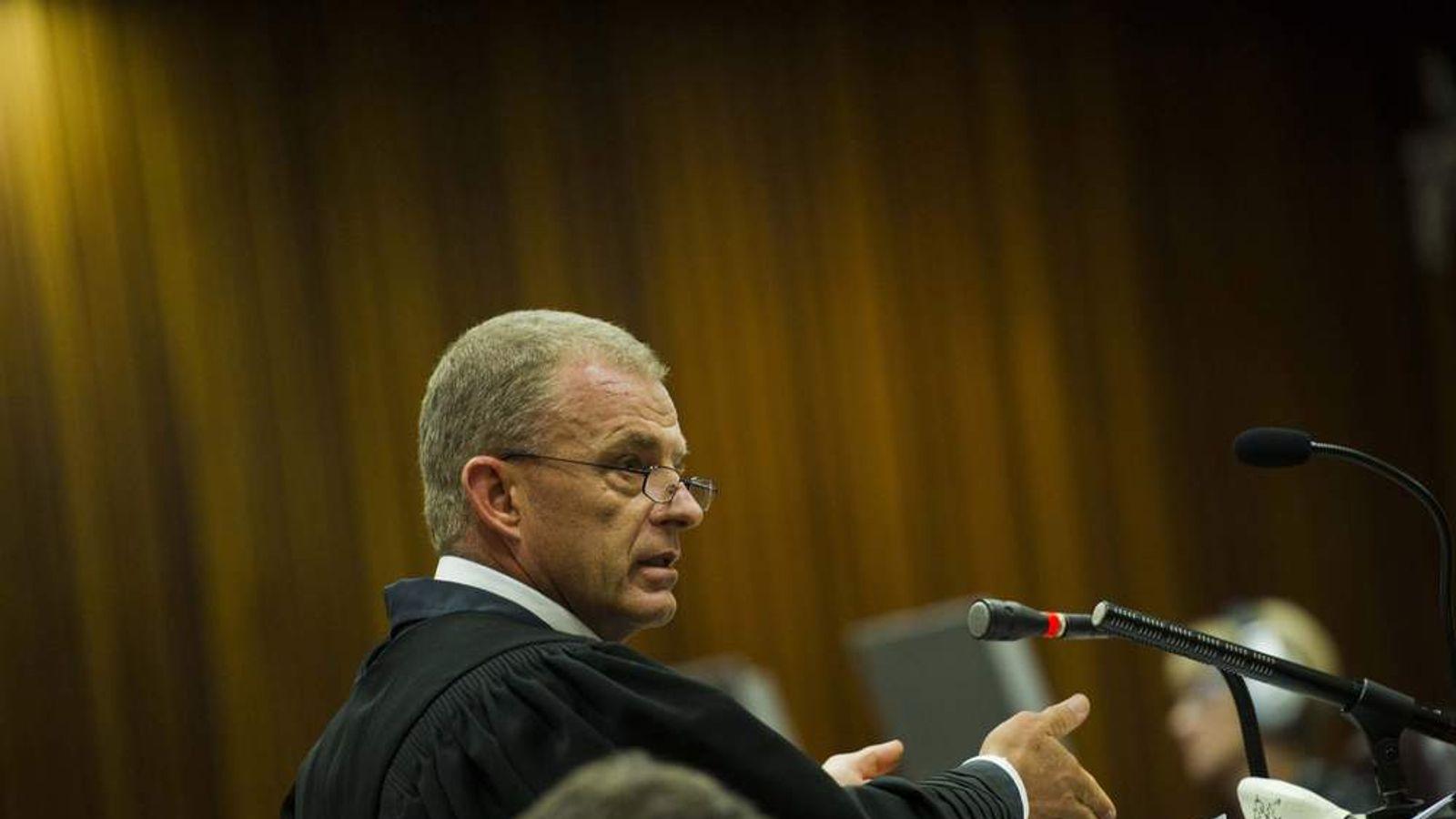 Oscar Pistorius Is Tried For The Murder Of His Girlfriend Reeva Steenkamp