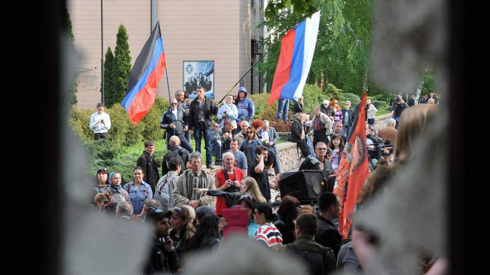 UKRAINE-RUSSIA-CRISIS-POLITICS-DONETSK