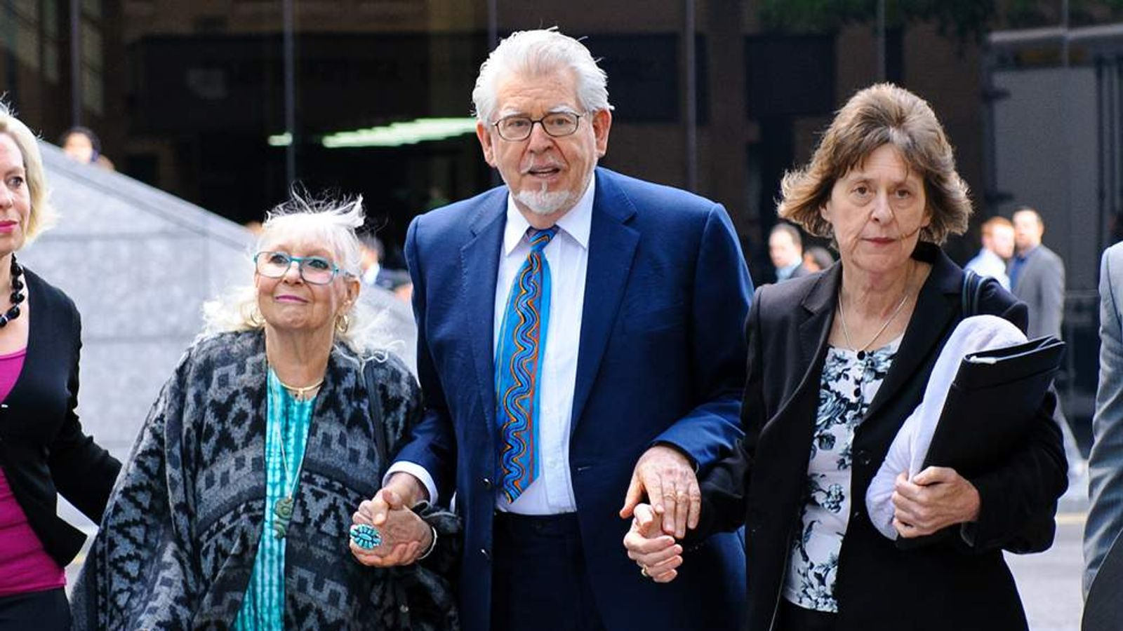 Rolf Harris Appears At Southwark Crown Court