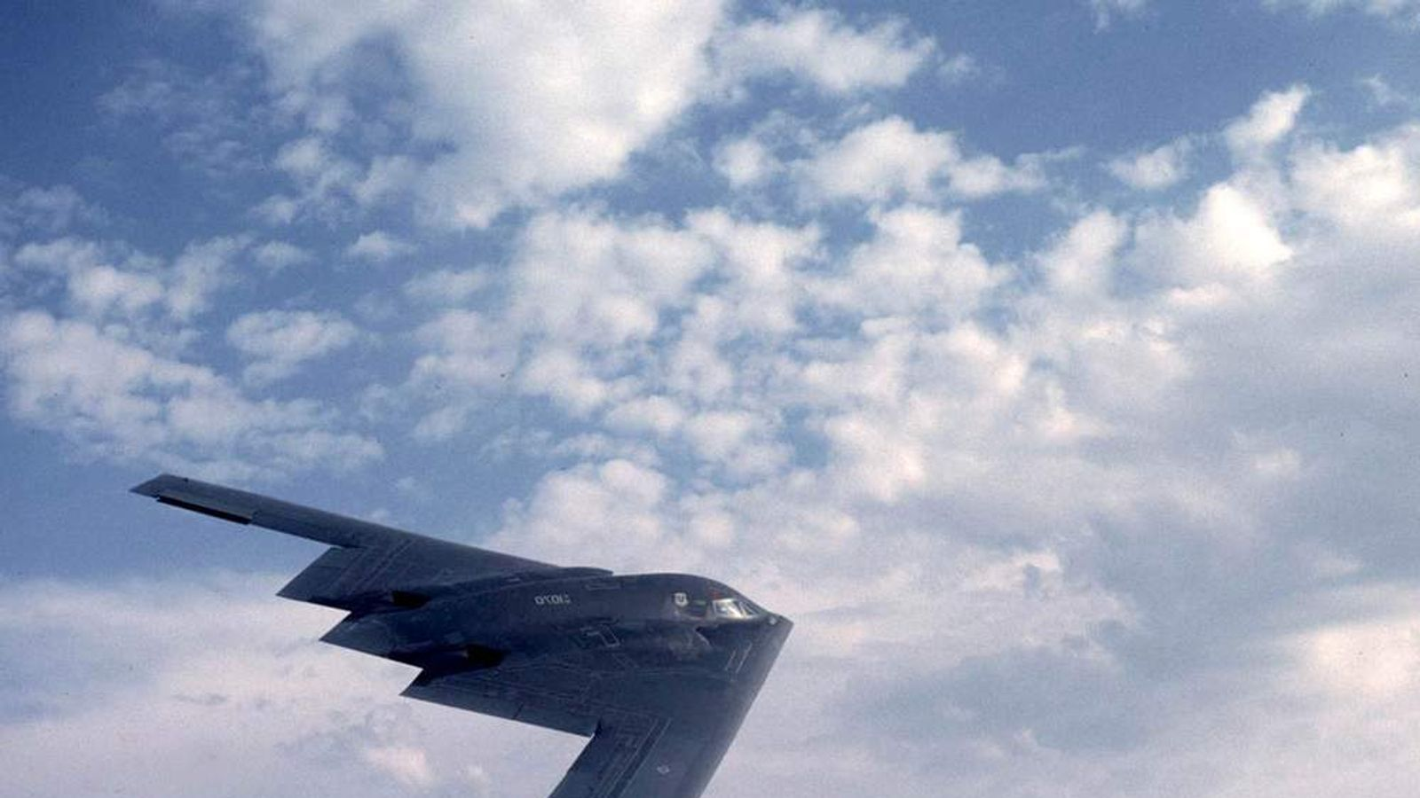 One of the U.S. Air Force's B-2 bombers