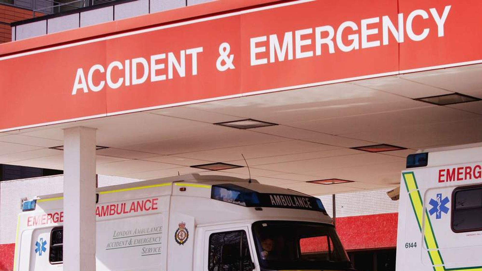 Accident And Emergency Unit At Hospital