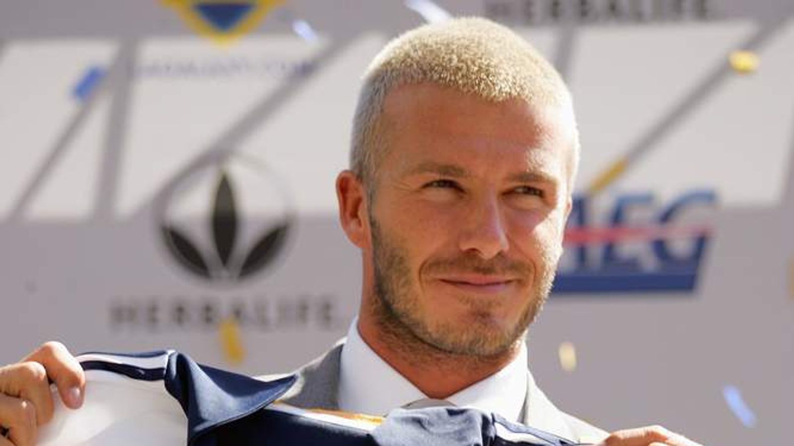 David Beckham Announced As An LA Galaxy Player