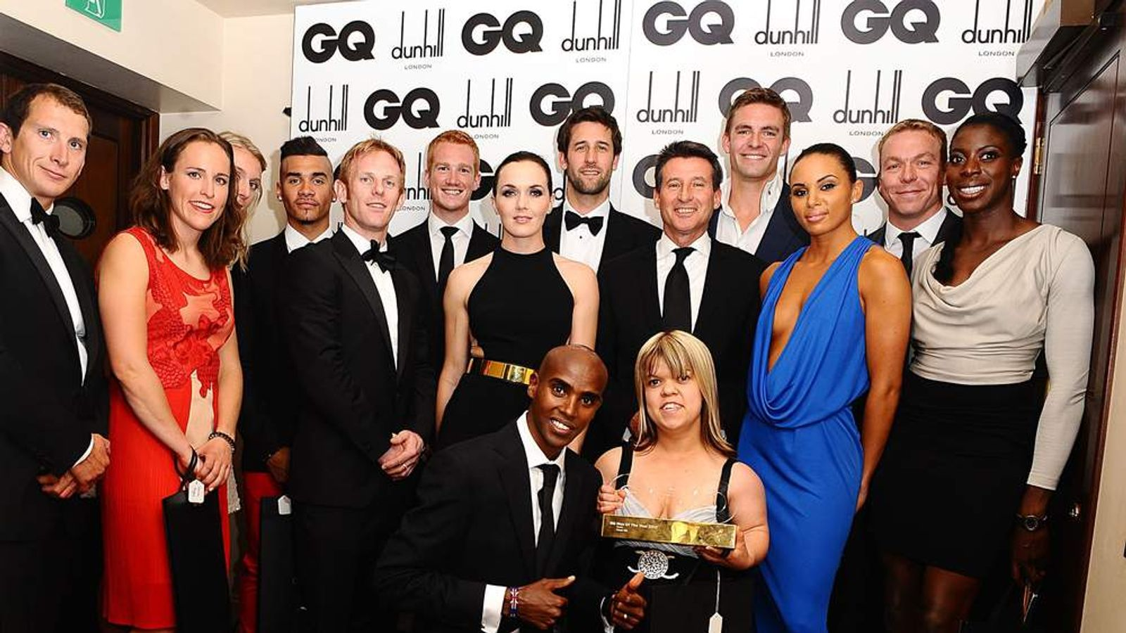 Team GB Stars At GQ Awards