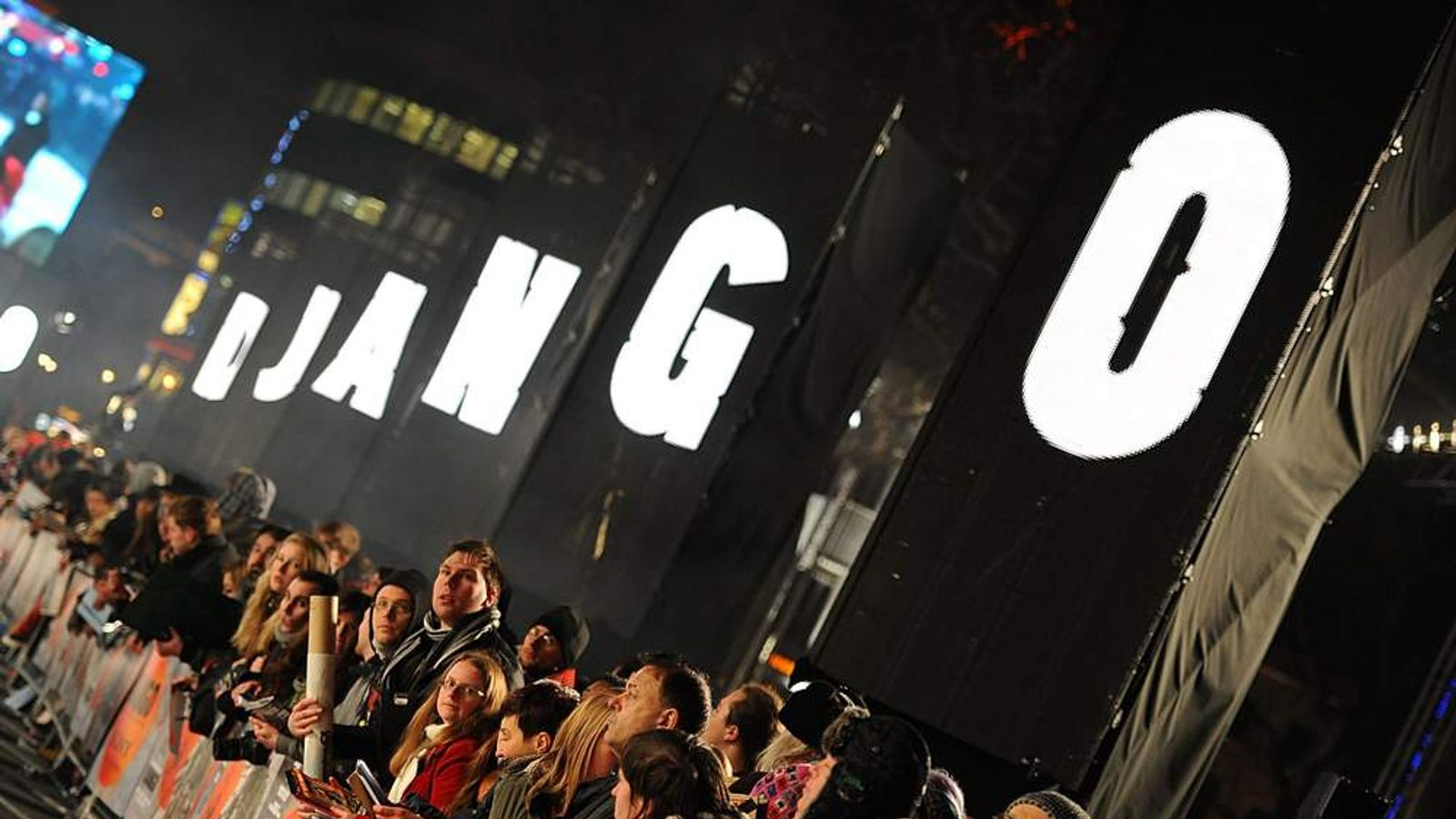 Django Unchained Premiere - London