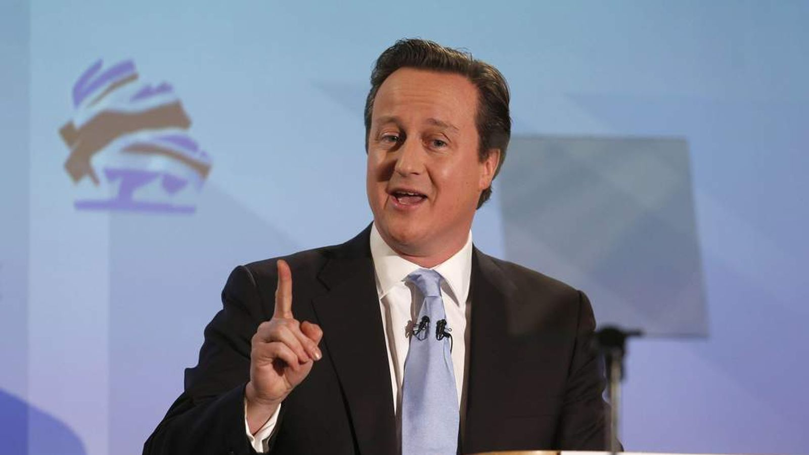 David Cameron at the Tory spring conference