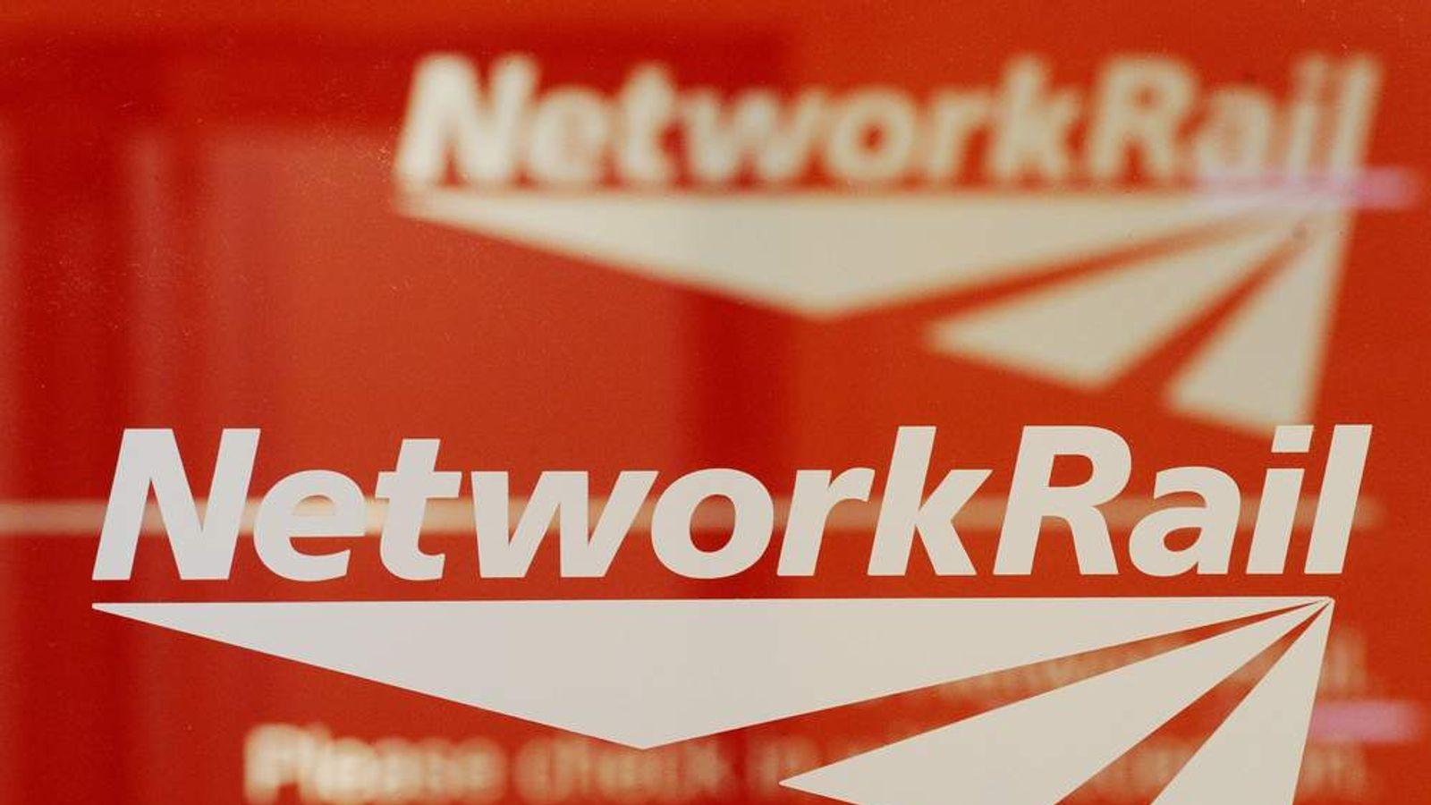 Four Network Rail bosses paid £600,000 in bonuses