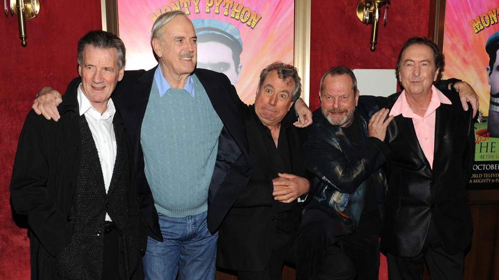 Monty Python stars in 2009