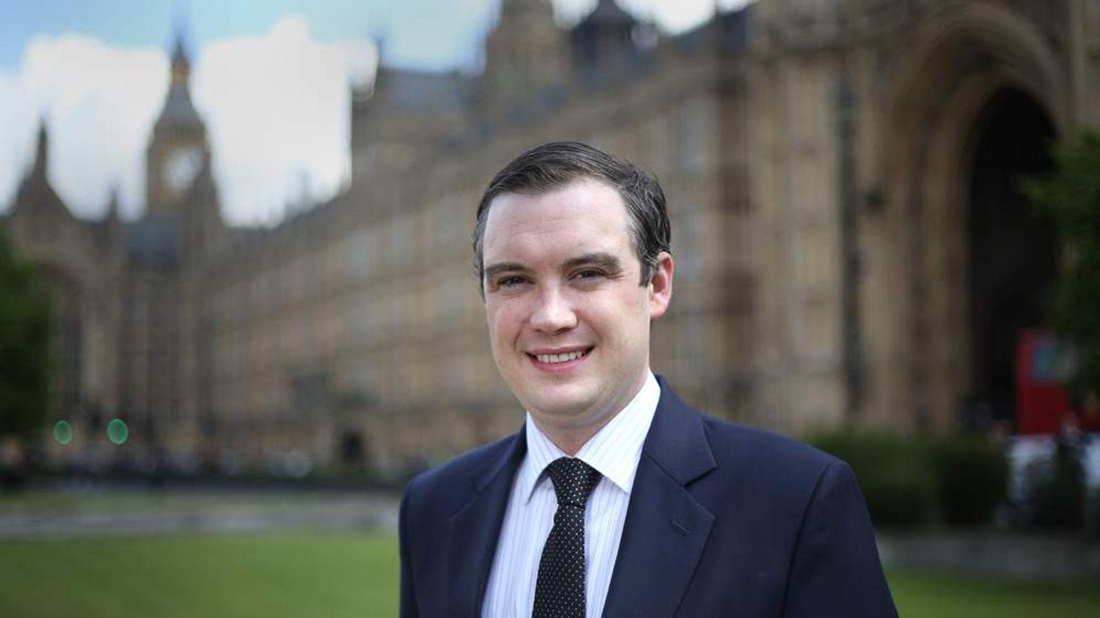 Tory MP James Wharton