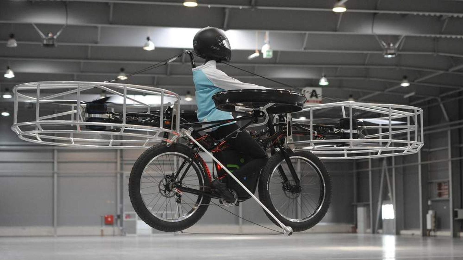 Czech Republic Flying Bike