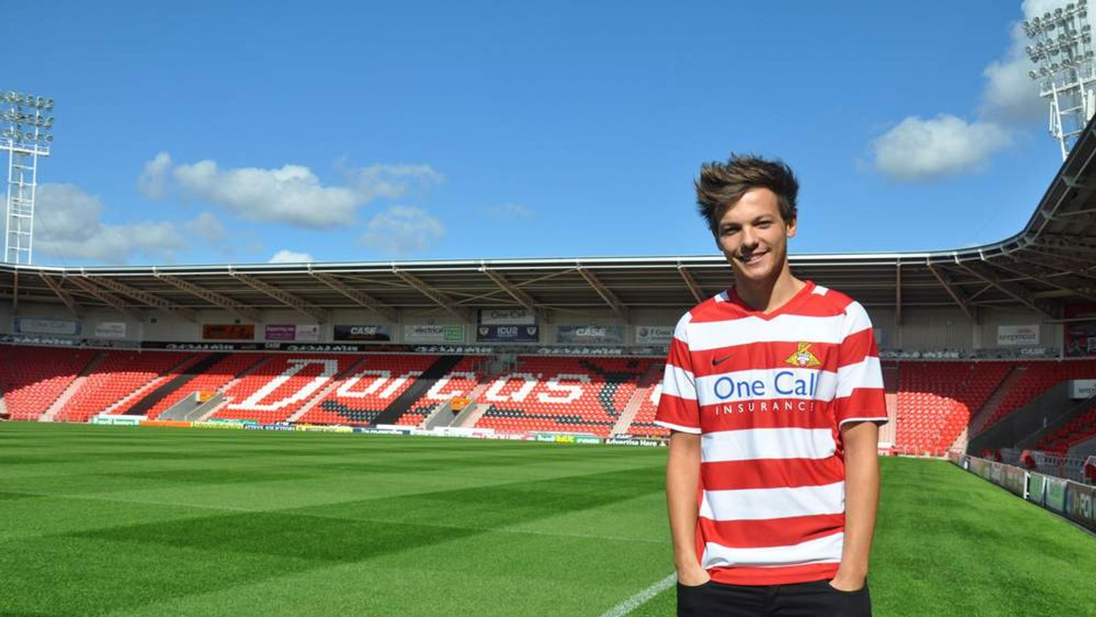 Louis Tomlinson signs for Doncaster Rovers FC