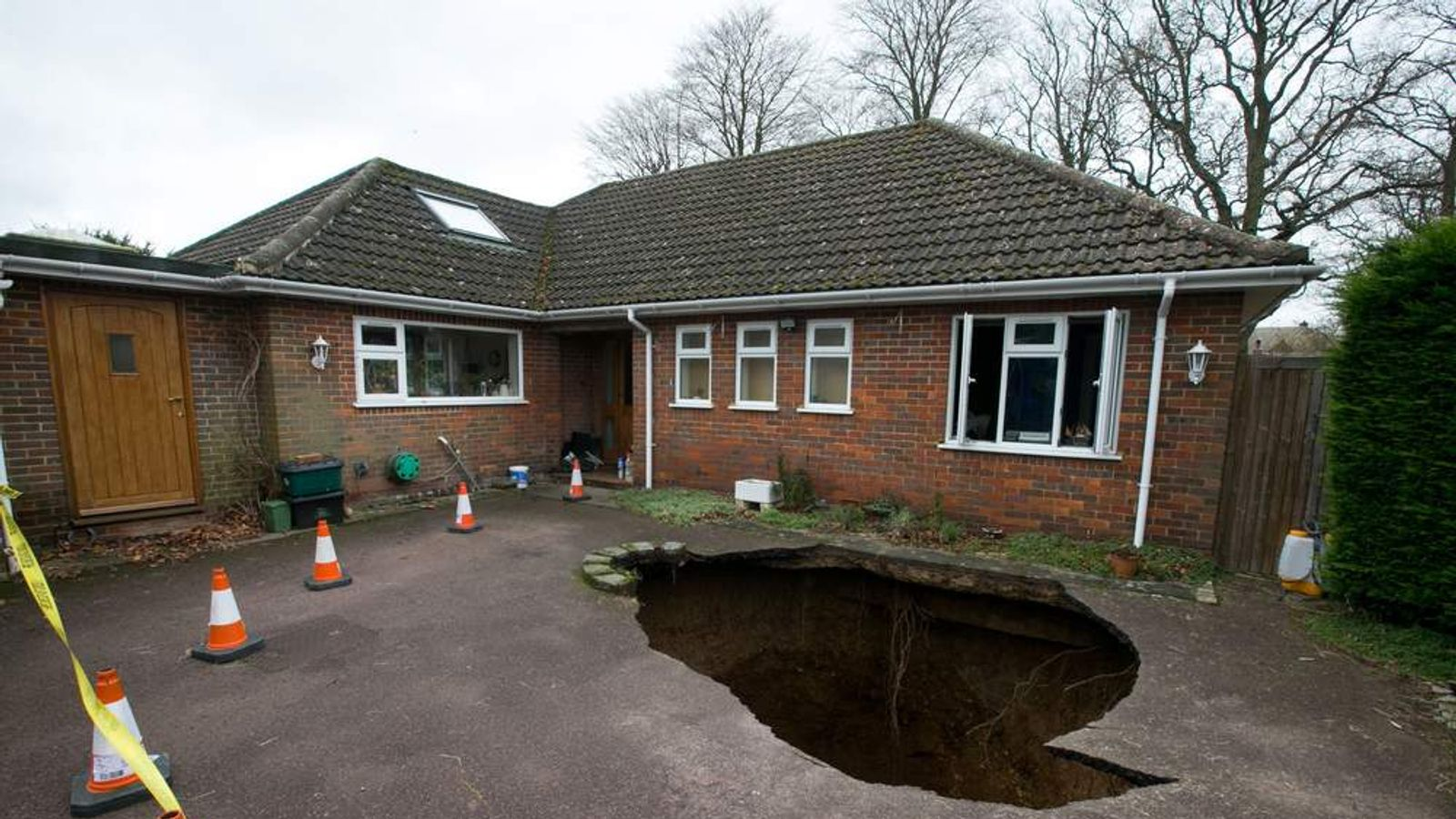 High Wycombe sinkhole