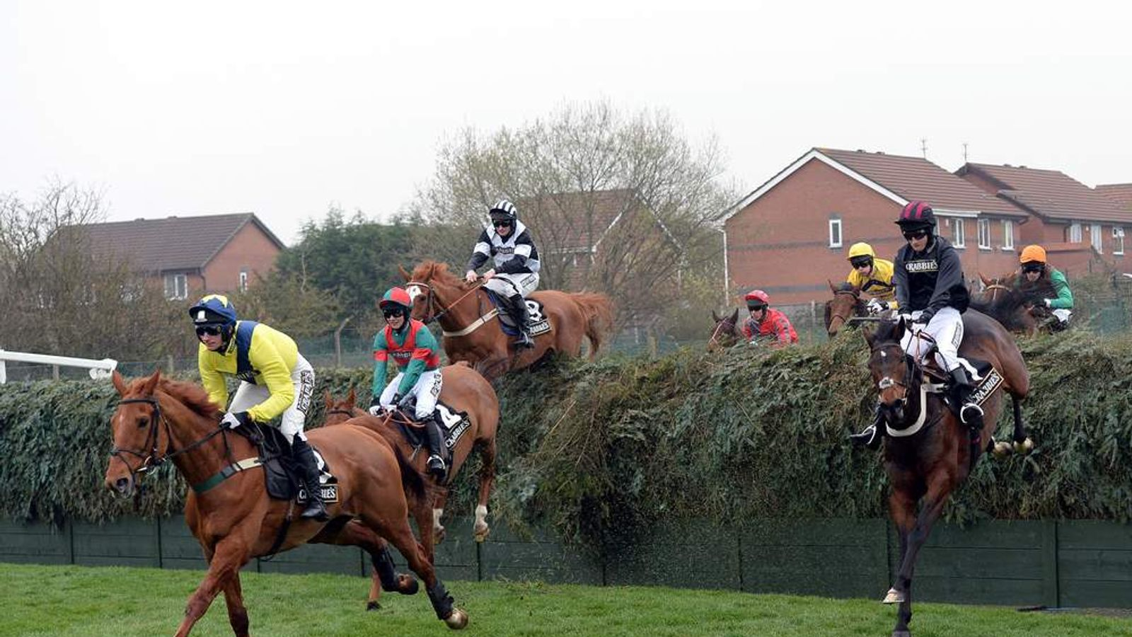 Horse Racing - The Crabbie's Grand National 2014 - Grand Opening Day - Aintree Racecourse