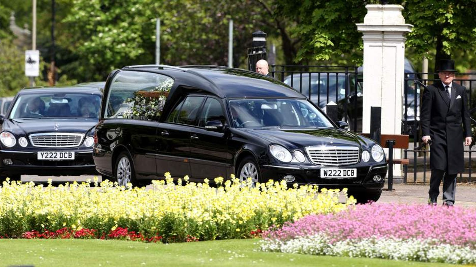 Sue Townsend funeral