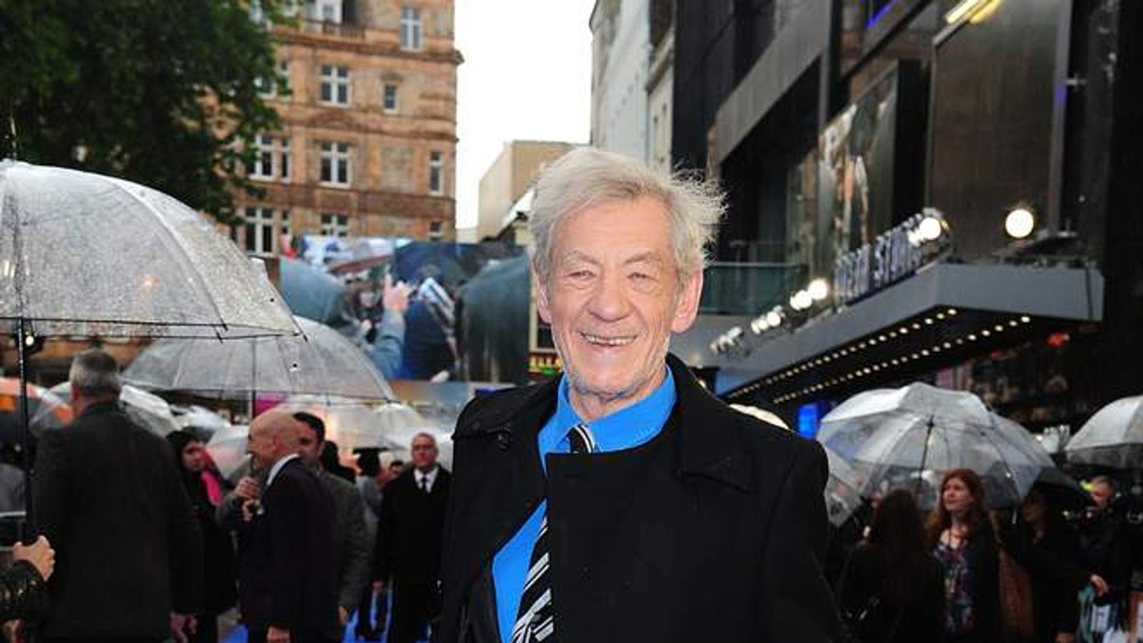 Sir Ian McKellen at X-Men: Days of Future Past Premiere in London
