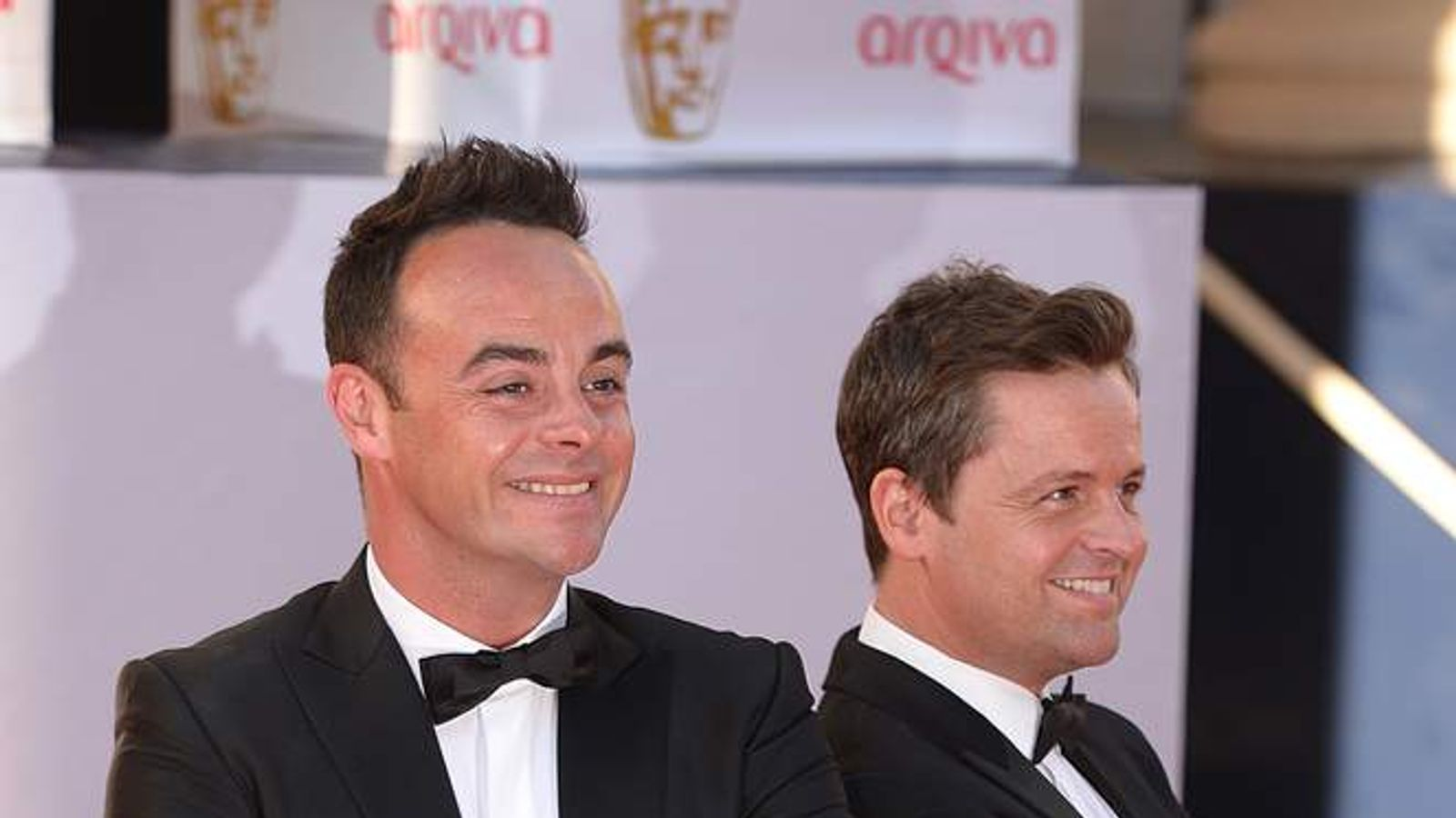 Ant and Dec at Bafta awards