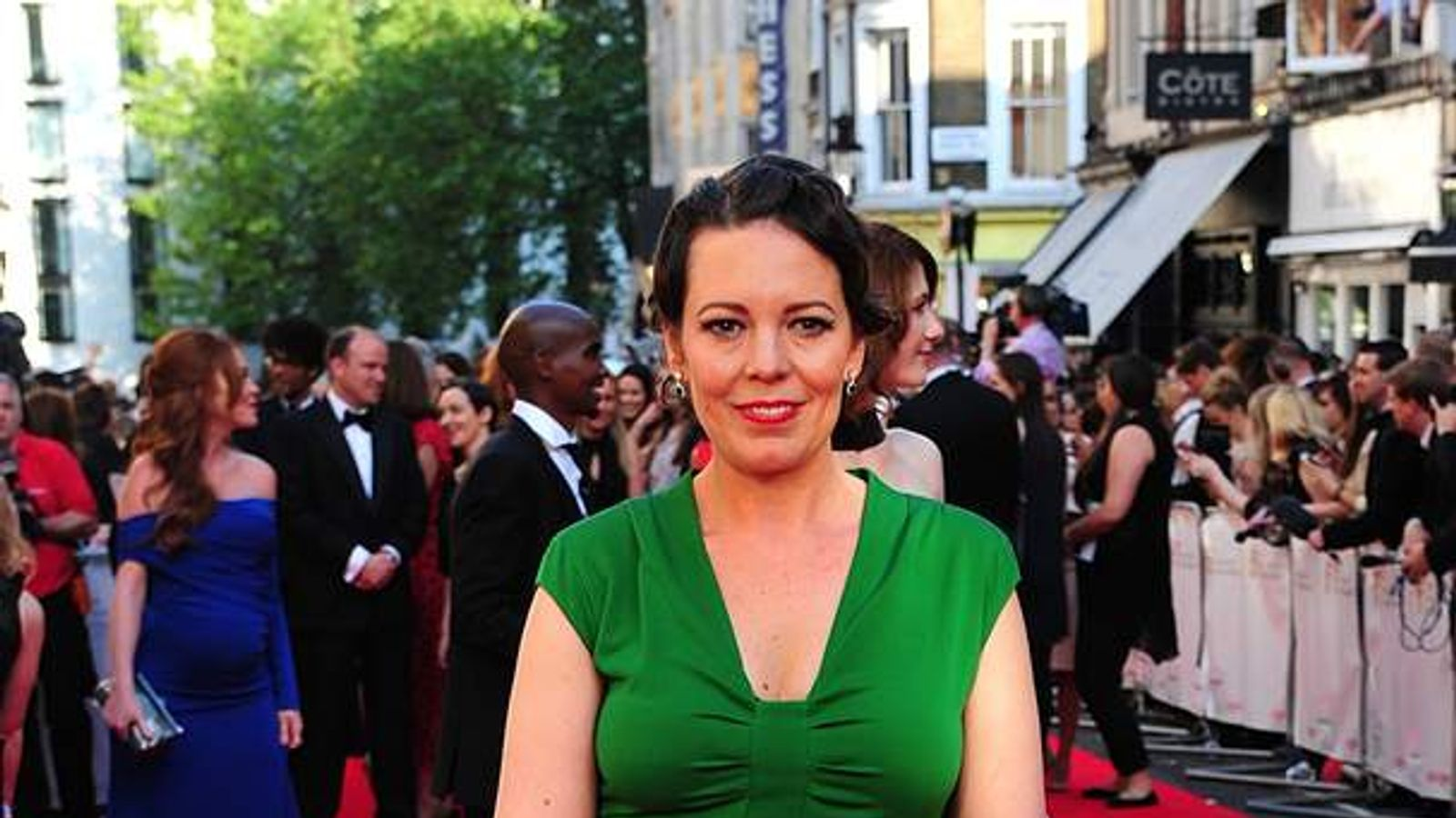 Broadchurch actress Olivia Colman