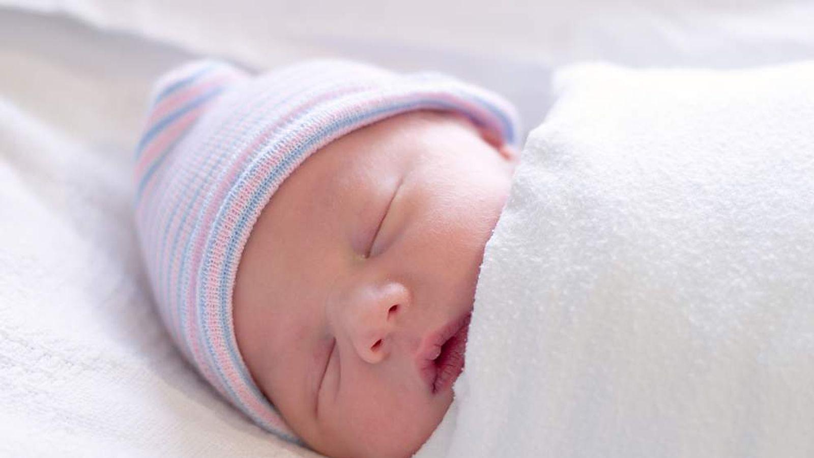 Baby Sleeping Swaddling