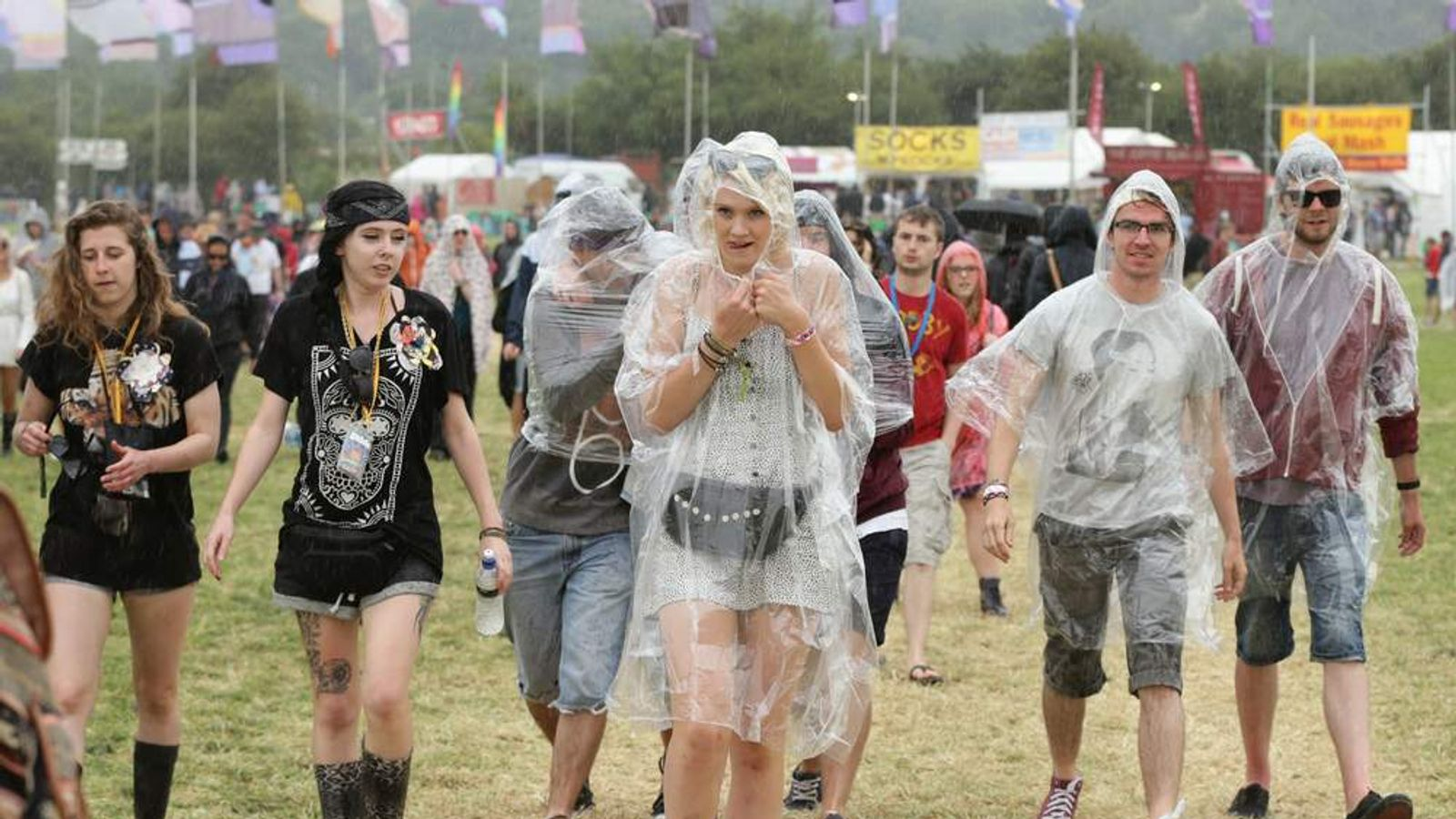 Glastonbury Festival 2014 - Preparations