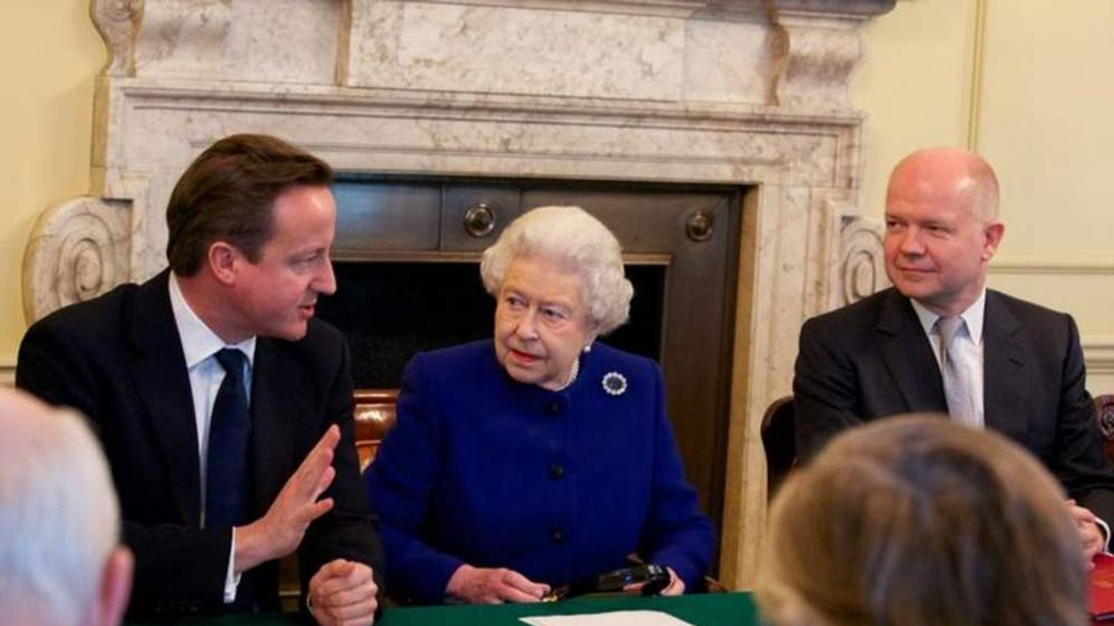 The Queen at Cabinet