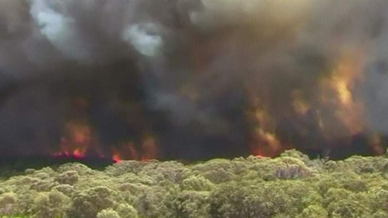 bushfire in South Australia