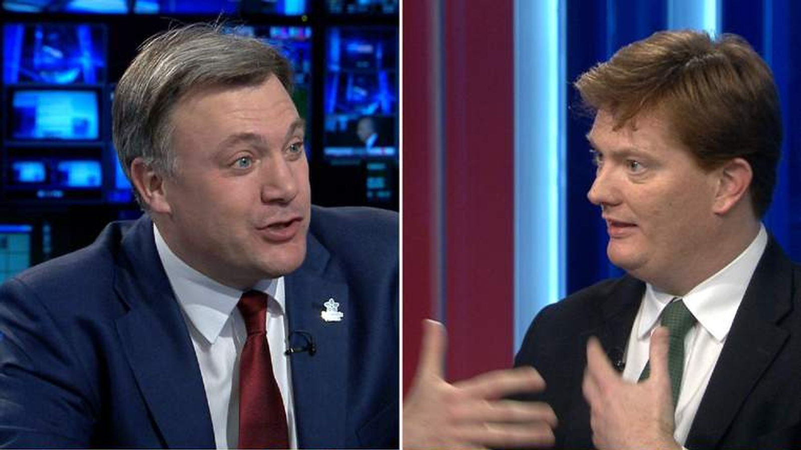Composite of Ed Balls and Danny Alexander