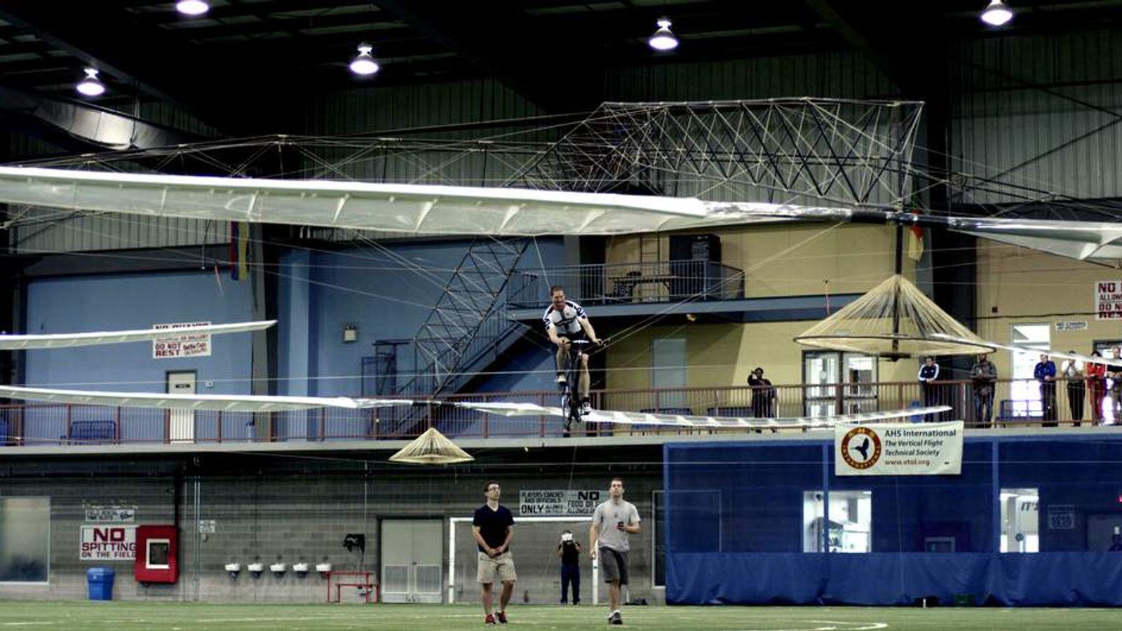 AeroVelo's winning flight