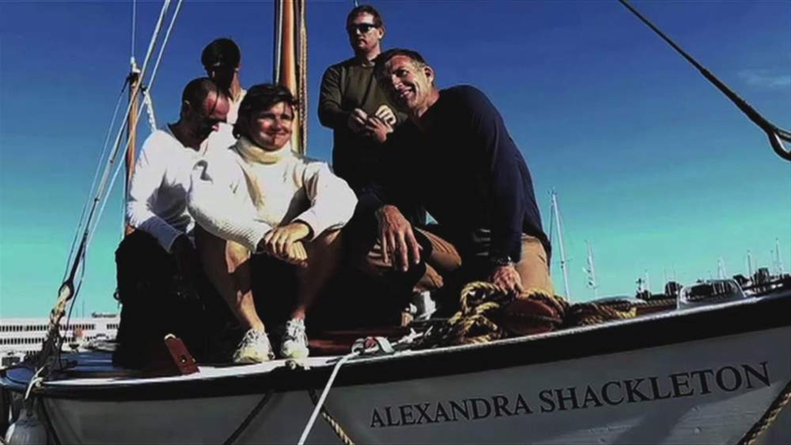 The Alexandra Shackleton crew