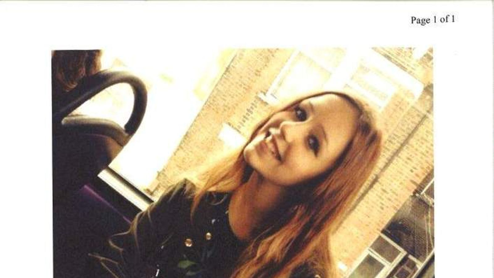 Alice Gross missing in Hanwell