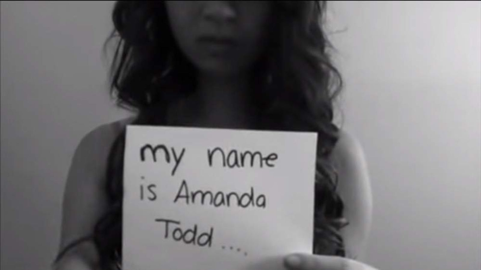 Amanda Todd YouTube Video Grab