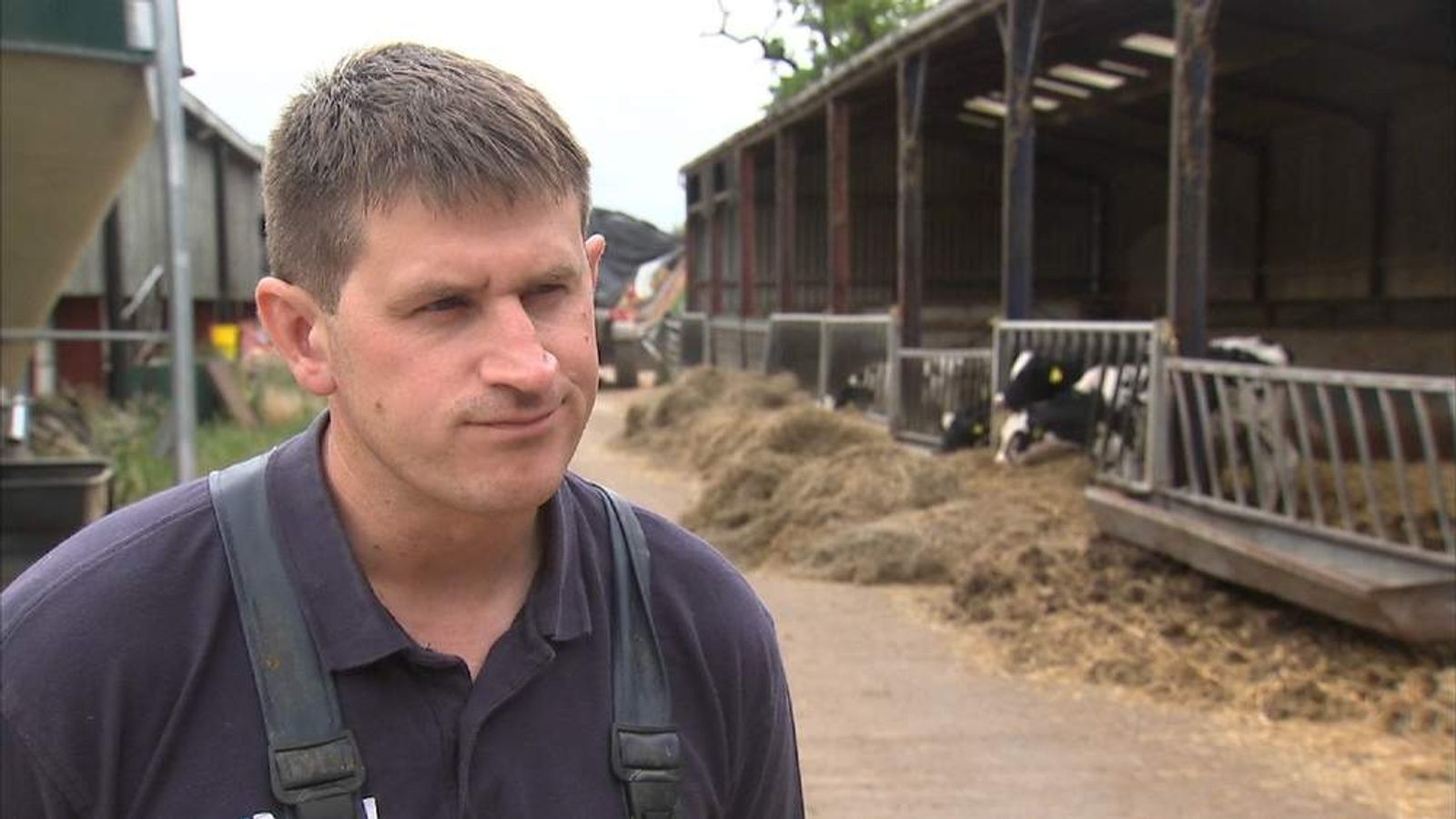 Andrew Porteous says the dairy industry is in crisis